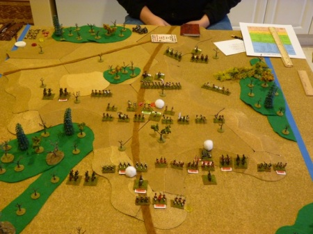 The British Advance