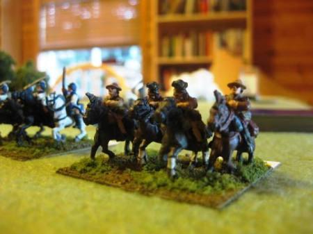 American Militia Cavalry
